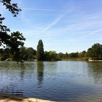 Photo taken at Bois de Boulogne by Vincent S. on 8/17/2012