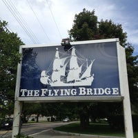 Photo taken at The Flying Bridge by Ryan K. on 8/20/2012