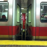 Photo taken at MBTA Park Street Station by Dom H. on 9/9/2011