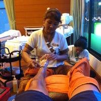 Photo taken at Phu Massage Spa by T-Chai S. on 5/8/2012