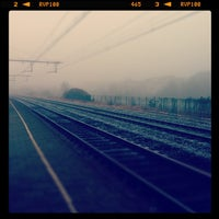 Photo taken at Station Gent-Dampoort by Tatiana V. on 11/16/2011