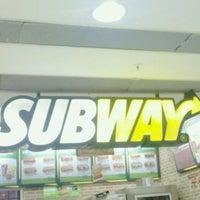 Photo taken at Subway by Fabio L. on 1/27/2012