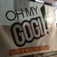 Photo taken at Oh My Gogi! Truck by Michael F. on 1/21/2012
