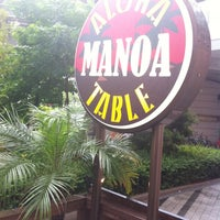 Photo taken at MANOA Aloha Table by Sayuri on 6/12/2012