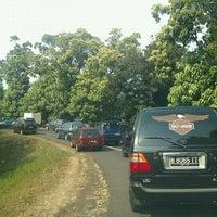 Photo taken at Gerbang Tol Pondok Gede Timur by jeconia d. on 9/24/2011