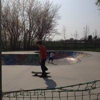 Photo taken at Skatepark - bowl by Francesco P. on 3/25/2012
