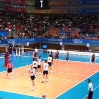 Foto tomada en Complejo Panamericano de Voleibol por Fer T. el 10/28/2011