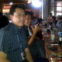 Photo taken at Warung BU Karyadi by Wijana W. on 1/3/2012