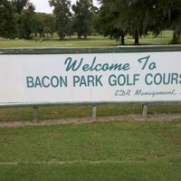 Photo taken at Bacon Park Golf Course by Jason T. on 9/17/2011