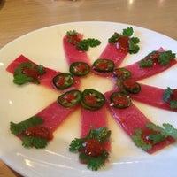 Photo taken at Sushi Zushi by Celeste S. on 1/19/2012