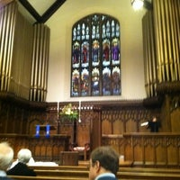 Photo taken at Plymouth Congregational Church by Wendy M. on 11/27/2011