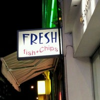 Photo taken at Fresh (Fish And Chips) by Nate P. on 2/1/2012