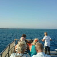Photo taken at Sea shuttle Faliraki-Rhodos by ILIYA on 9/4/2012