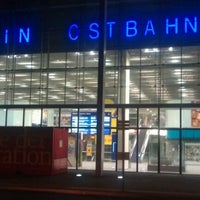 Photo taken at Berlin Ostbahnhof by hideaki t. on 10/18/2011