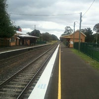 Photo taken at Wingello Station by Broos100 on 11/26/2011