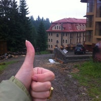 Photo taken at Grand Hotel «Pylypets» by Nasta S. on 6/28/2012