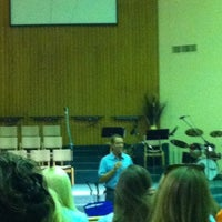 Photo taken at First Baptist Church by Julie G. on 6/28/2012