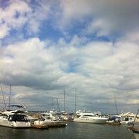 Снимок сделан в Di Mare пользователем Елена Я. 6/7/2012