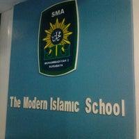 Photo taken at SMA Muhammadiyah 2 Surabaya by Arul a. on 6/14/2012