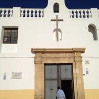 Photo taken at Ermita de la Santa Cruz by Rafael G. on 1/1/2012
