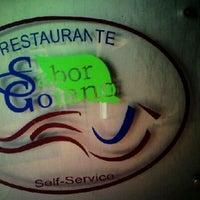 Photo taken at Restaurante Sabor Goiano by Tiago T. on 1/20/2012