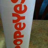 Photo taken at Popeyes Chicken by LaToya on 6/17/2012