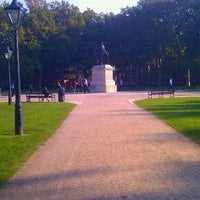 Photo taken at Queen Square by James B. on 10/3/2011