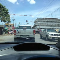 Photo taken at ตลาดสดสีคิ้ว by sakchai s. on 8/22/2012