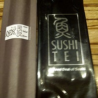 Photo taken at Sushi Tei by Lionnyta A. on 8/22/2012