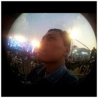 Photo taken at Lapangan Gasibu by Didit P. on 9/1/2012