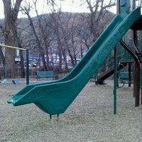 Photo taken at Manitou Springs Memorial Park by Blanca S. on 11/29/2011