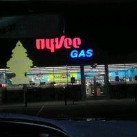 Photo taken at Hy-Vee Gas by Andrew G. on 10/21/2011