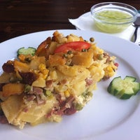 Photo taken at Restaurace Brko by Bikocom's Guide on 4/19/2011