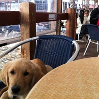 Photo taken at Grange Jetty Cafe by Adam on 5/15/2011