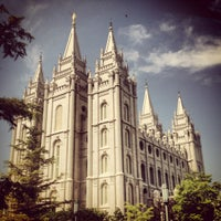 Photo taken at Temple Square by Jared L. on 6/7/2012