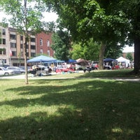 Photo taken at St. Albans Farmers Market by Katherine I. on 8/11/2012
