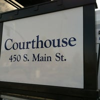 Photo taken at TRAX Courthouse by Juna D. on 11/17/2011