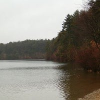 Photo taken at Walden Pond by Meg on 8/9/2011