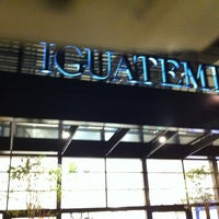Photo taken at Shopping Iguatemi by Ricarte D. on 7/29/2011