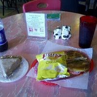 Photo taken at Karen's Kitchen by Nathan C. on 8/1/2012
