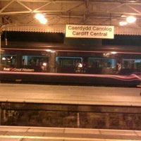 Photo taken at Cardiff Central Staff Messroom (Platform 7) by Brian on 12/20/2011