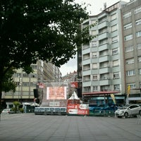 Photo taken at Praza Roxa by Susana P. on 6/29/2012