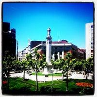 Photo taken at Plaza de la Inmaculada by Manuel G. on 7/28/2011