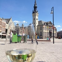 Photo taken at Grote Markt by Kim D. on 7/2/2012