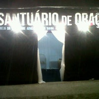 Photo taken at Santuário da Oração - Semana de Oração - IAENE by Fabio B. on 3/7/2012