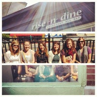 Photo taken at Rise-n-Dine by Katie M. on 4/14/2012