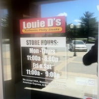 Photo taken at Louie D's Authentic Philly Steaks by Joe S. on 6/28/2011