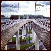 Photo taken at Amsterdam Sloterdijk Station by Iwan W. on 7/17/2012