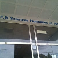 Photo taken at UFR Sciences Humaines et Arts by Pierre L. on 9/19/2011