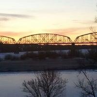 Photo taken at Missouri River by Greg L. on 1/28/2012